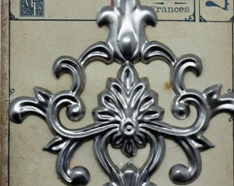 "Turin 6"" Metal Applique"