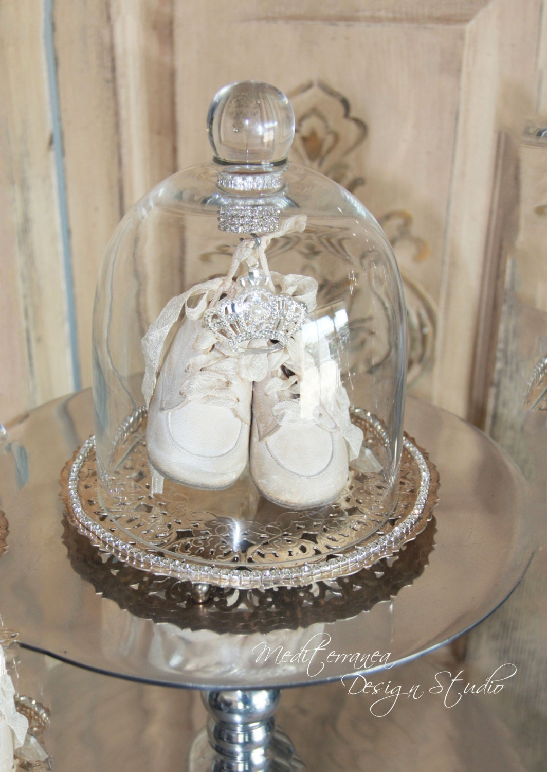 Antique Glass Shoes