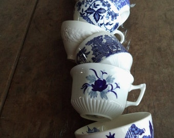 Vintage Teacups Home & Living Kitchen Dining Entertaining Drinkware Serving Wedding Tea Party Bone China England Japan U.S.A Collectibles