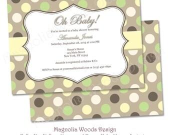 Gender Neutral Baby Shower Invitation | Etsy