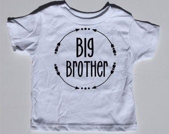 Big Brother, graphic tee, baby bodysuit, toddler shirt, big brother shirt