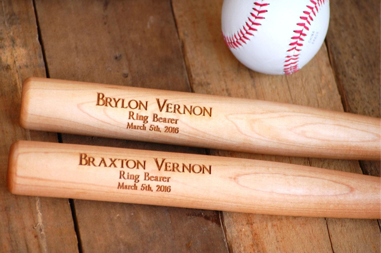Baseball Wedding Gifts: Wedding Gifts For Men Personalized Baseball Bats 5