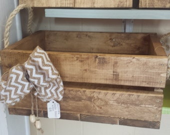 Handcrafted Wooden Basket