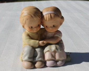 Lucie Attwell Memories of Yesterday Couple Numbered Figurine