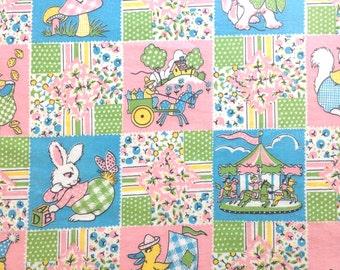 Animal Print Fabric Juvenile Anthrpomorphic Cotton 1 Plus Yard