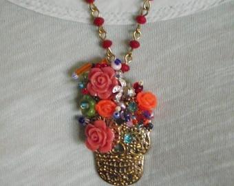 El Dia De Los Muertos Skull Necklace