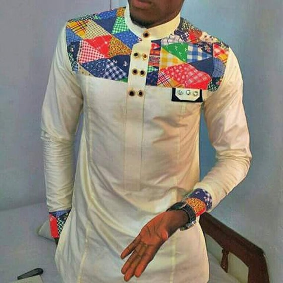 Items similar to african clothing for men african print for Wedding dress t shirt designs
