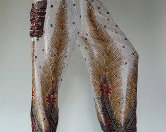 SM0400 gypsy pants rayon pants,aladdin pants maxi pants boho pants