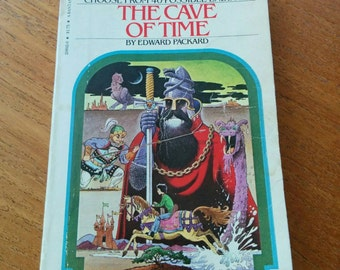 Choose Your Own Adventure #1 The Cave of Time Vintage 80s