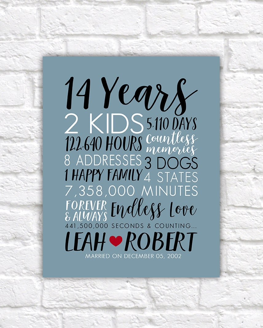 Wedding Gift 14 Years : Ideas. 14th Wedding Anniversary Gifts. skinnycargopantsaddict wedding ...
