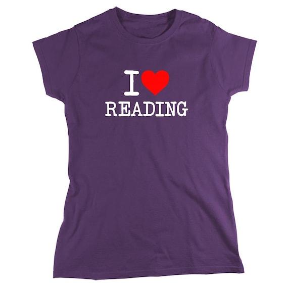 I Love Reading Shirt, book worm, novels - ID: 1347