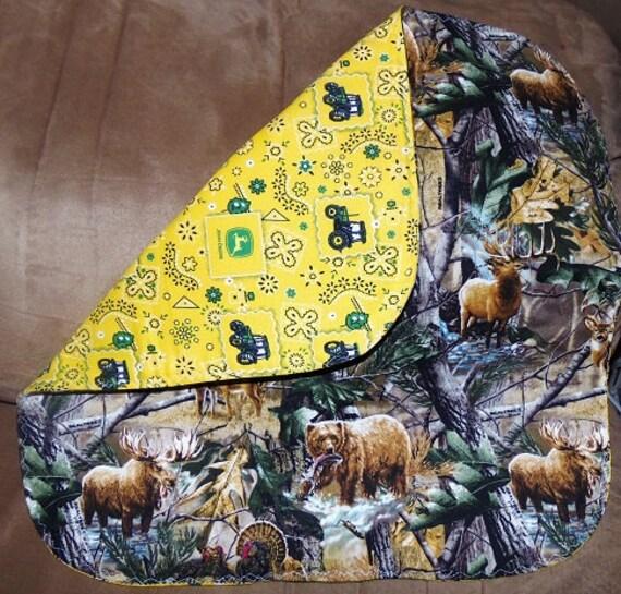 Camouflage Dish Drying Quilt Dish Drying Mat Pet Dish