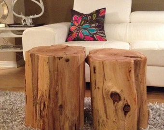 Stump Tables,Log Furniture,Stump Coffee Table, Wood Block Tables,Rustic  Tables,Tree Trunk Tables,Stump Side Tables, Rustic Furniture