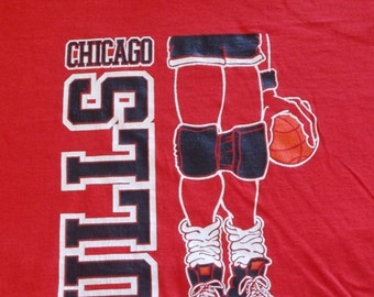 90s Swingster Chicago Bulls Michael Jordan Vintage T Shirt Large / XL