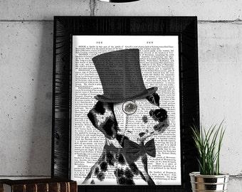 Dalmatian decor Dalmation Dalmatian Gift Idea - Formal Dalmatian print Dalmatian Wall Art Dalmatian art print Dalmatian poster Dalmation Mom
