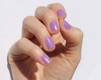 Solid Lilac Nail Wraps
