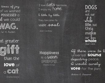 6 Pet Adoption Photography Overlays - Dog and Cat Quotes -  Adopt Me Rescue Me -  Pet Adoption Overlays