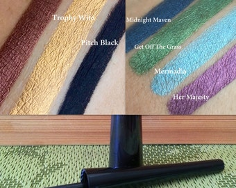 LIQUID EYELINERS- All Natural, Vegan- Pick your color...
