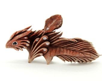 Dragon Spirit Elemental Fantasy Figurine Dragon Sculpture Fantasy Animal Creature