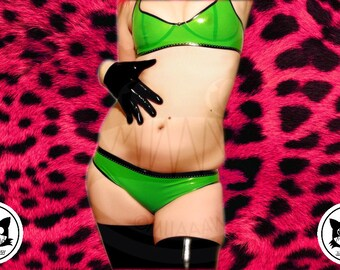 Kiwi Star latex Panties