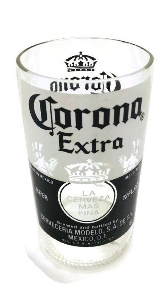 Upcycled corona drinking glass for How to make corona glasses