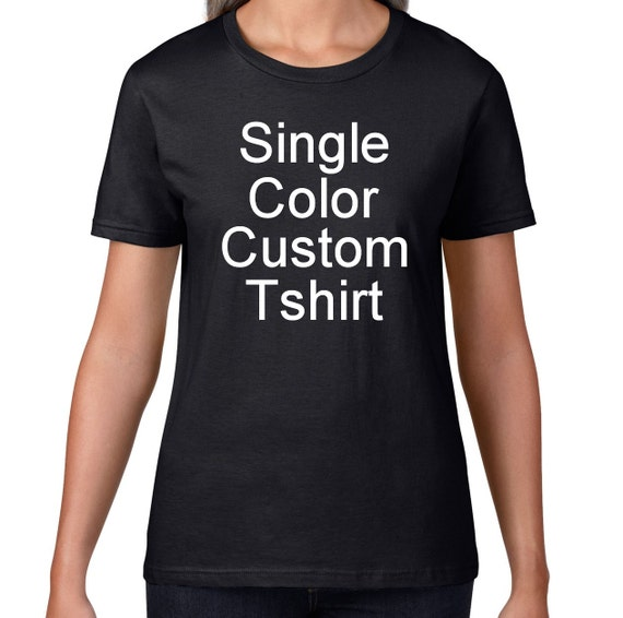 Womens custom shirt custom t shirt design your own custom for Design your own custom t shirts