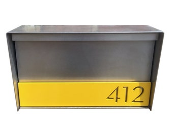 Broadmoor STAINLESS STEEL Mailbox