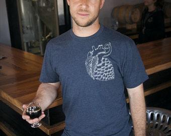 Craft Beer t-shirt- Hop Heart