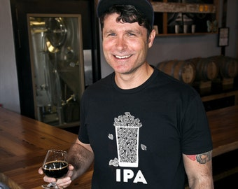 IPA craft beer t-shirt- Multiple Colors
