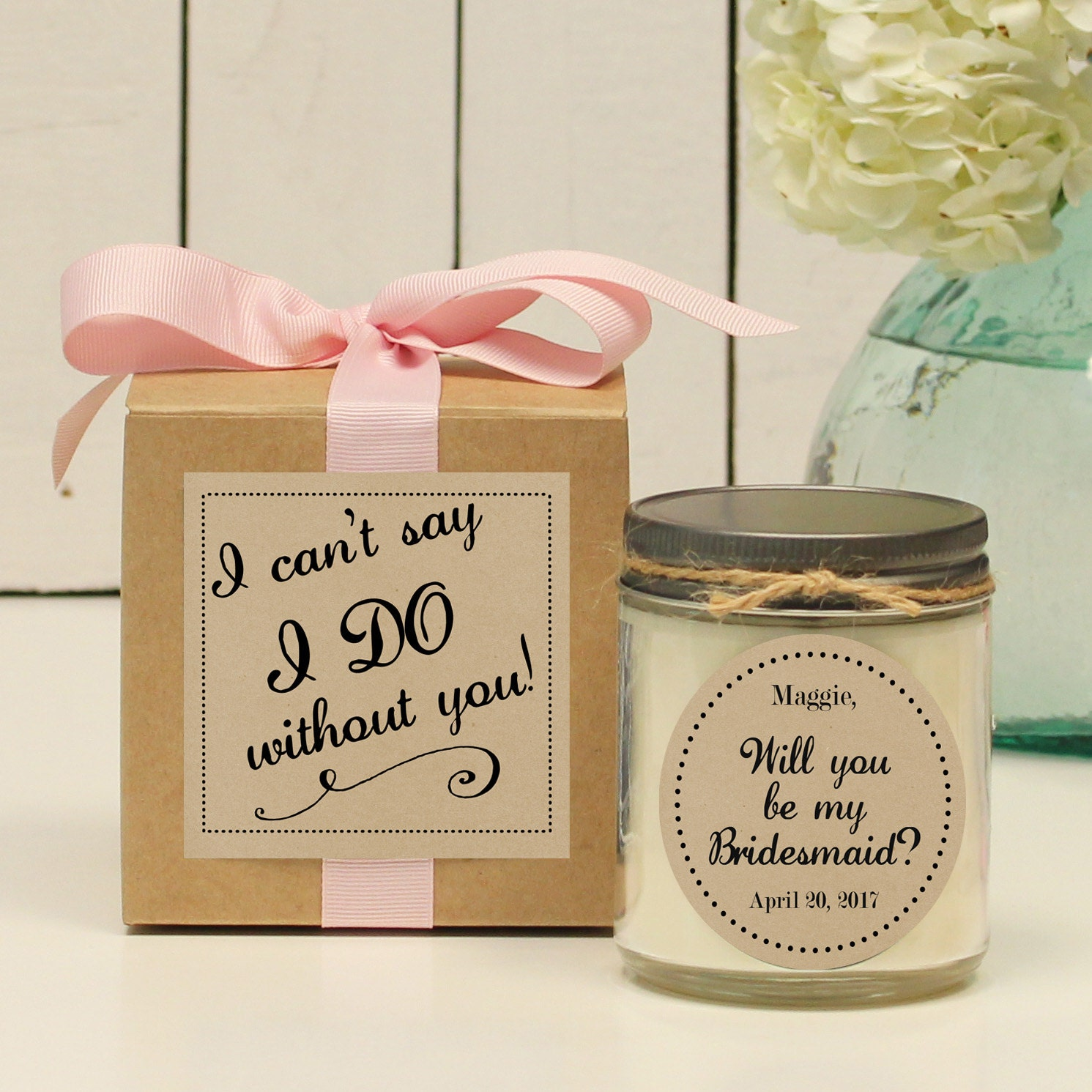 Will You Be My Bridesmaid Gift // Will You Be My Maid Of