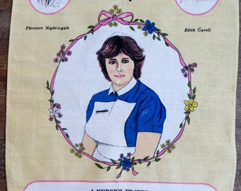 Nurses Prayer Tea Towel - FREE POSTAGE