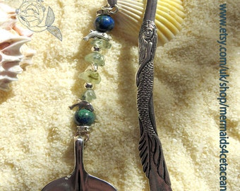 Whale fluke bookmark