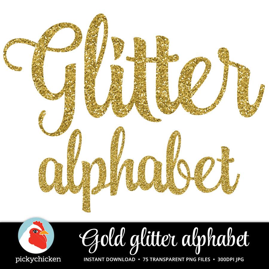 gold glitter alphabet gold alphabet sparkly glitter script