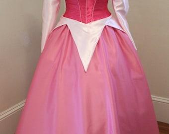 Sleeping Beauty Dress - Pink or Blue