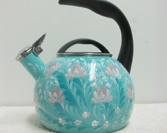 unique whistling kettle related items etsy