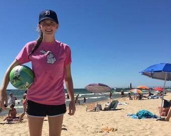 Michigan Volleyball T-shirt- Vball Apparel, Sports Shirt