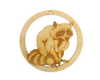 Raccoon Ornament - Raccoon Ornaments - Raccoon Gifts - Raccoon Decor - Raccoon Gift - Wildlife Ornament - Wildlife Gift - Personalized Free