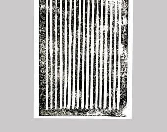 Line Linocut - Edition of 10