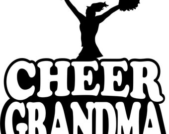 Cheer Grandma T Shirt/ Cheer Grandma Shirt/ Cheer Grandma Clothing Cheer Grandma Gift/ Cheer Grandma/Girl Cheer Grandma Short Sleeve T Shirt