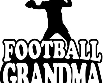 Football Grandma Hoodie/ Football Grandma Clothing/ Football Grandma Gift/ Football Grandma Sweatshirt/ Football Grandma Hoodie Sweatshirt