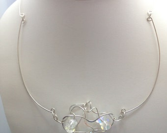Necklace - 'Life Design' with Glass Beads