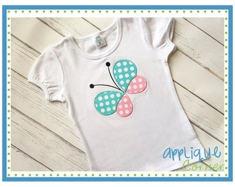 Personalized Butterfly Applique Shirt or Onesie Girl or Boy