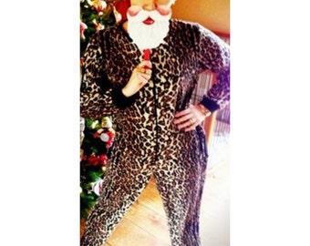 CHRISTMAS PAJAMAS - Nick & Nora Sleepwear - Leopard, Zebra, and Starry Night Designs - Limited Quantity's