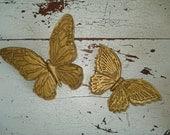 Pretty Vintage Gold Butterflies Butterfly believe team rdt ivteam epsteam vtpassion tvat