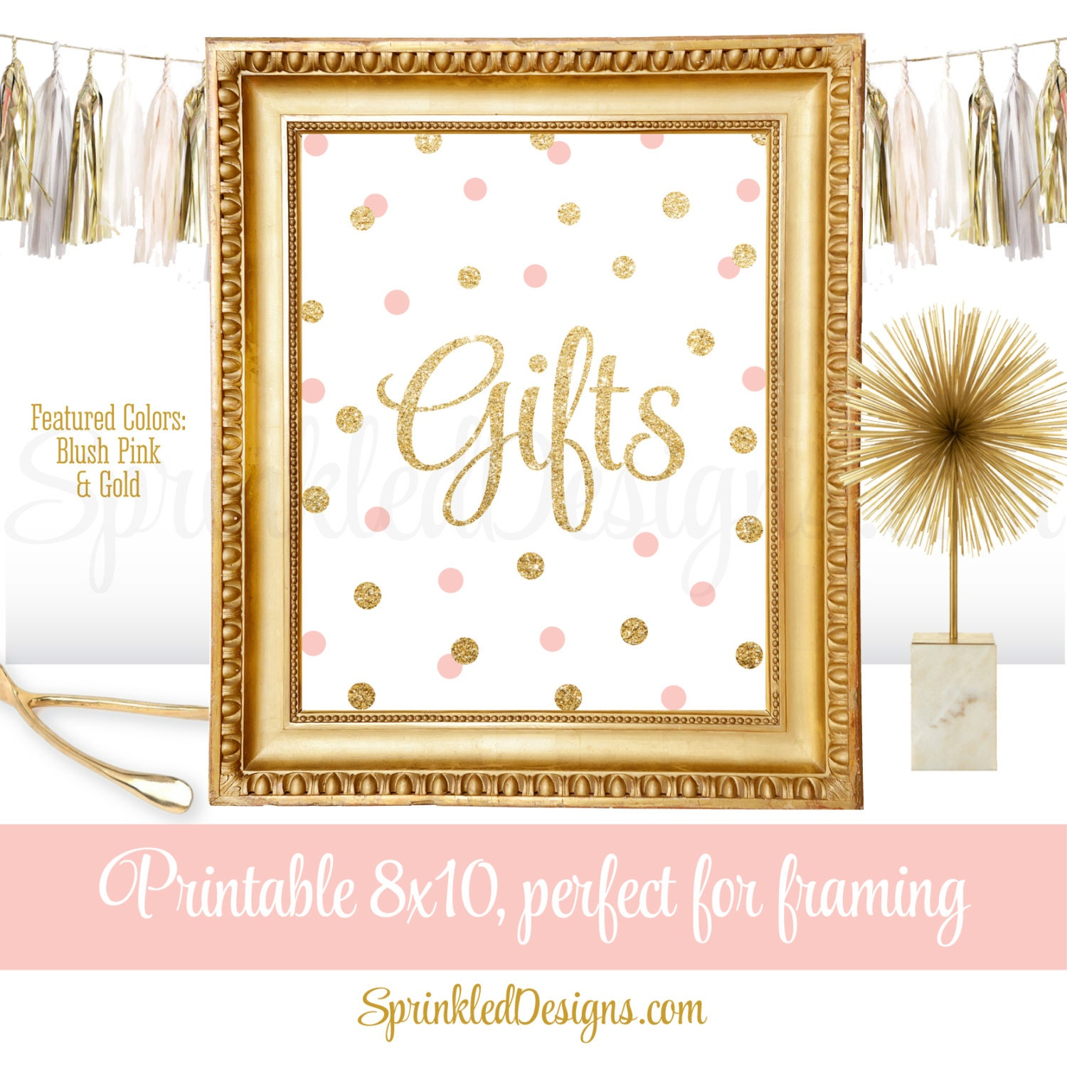 Table Gifts For Weddings: Gift Table Party Signs For Wedding Birthday Or Baby Shower