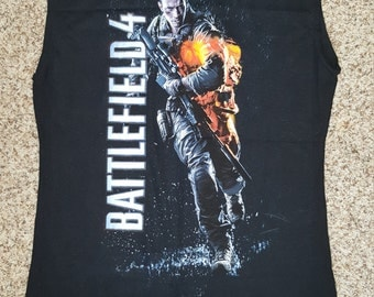 Battlefield 4 Womens Tank Top