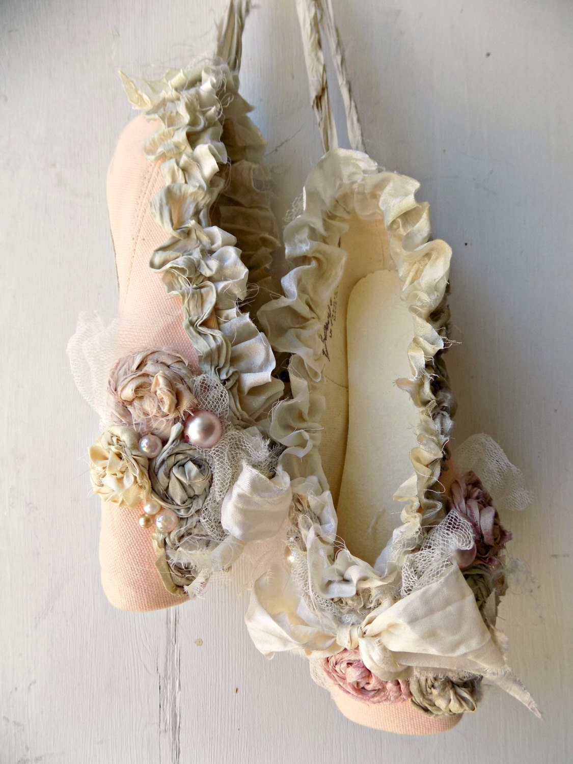 French Country Ballet Shoes Home Decor Shabby Chic Ballet