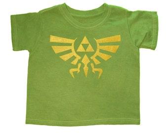SALE! - 16.00 --> 12.50, Zelda, Kids Shirt, Hyrule