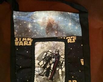 Star Wars Storm Trooper Dark Side Medium Cross Body Messenger Purse Tote 11 X 10
