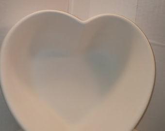 Large Heart Shaped Bowl